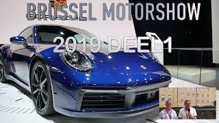 BRUSSEL MOTORSHOW 2019 DEEL1, PORSCHE 911, BMW X7, RANGE ROVER EVOQUE, ALPINE 100