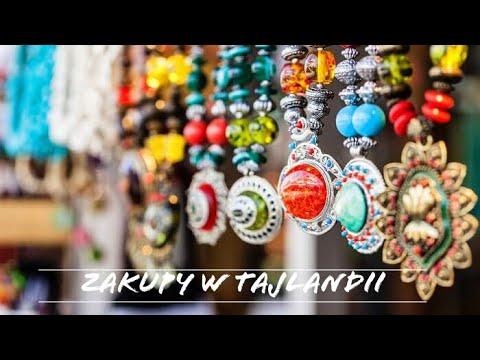 Zakupy W Tajlandii, Nocne Markety I Jedzenie Robaków/Vlog Kreta Na Wakacjach