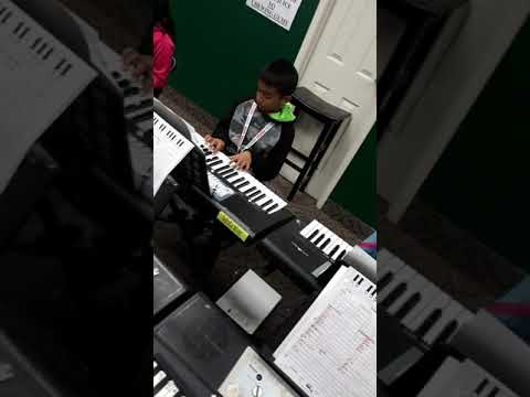 Antarctica song by Level 3 students of Sarega Music school of fine arts Mississauga location