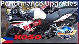 Performance Upgrades - Koso - Faito - Rusi ss250 Sigma - PJ MotoParts