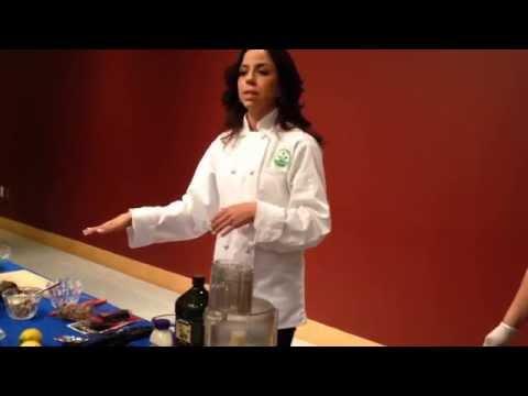 Chef Mia Cooking Demo at Temple Beth El, Newark, Delaware