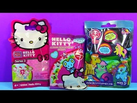 Hello Kitty and My Little Pony MLP Blind Bags