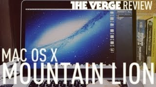 OS X 10.8 Mountain Lion review