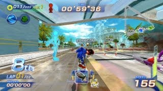 Rage Quit - Sonic Free Riders