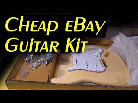 Cheap eBay DIY Guitar Kit