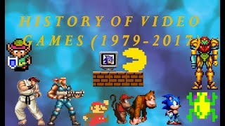 Evolution of Video Games (1979-2017)