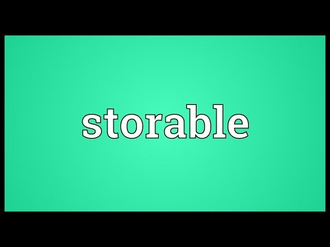 Header of storable