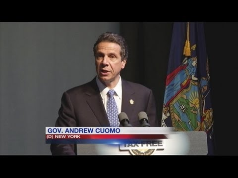 Cuomo: no taxes for some new businesses