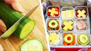 9 Lunchbox Hacks | School Lunch Ideas | Healthy Bento Box Lunches | Craft Factory