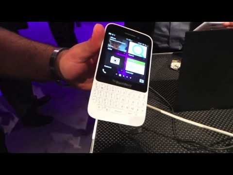 BlackBerry Q5 Hands-On
