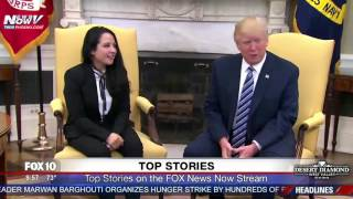 FNN: President Trump Meets with Aya Hijazi, Egyptian-American Freed After 3 Years in Cairo Jail