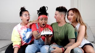 COUPLE VS. COUPLE LIE DETECTOR TEST CHALLENGE!!!
