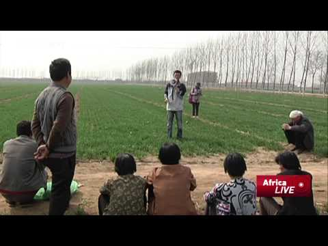 College Students Teach 'Modern Farming' In Rural China