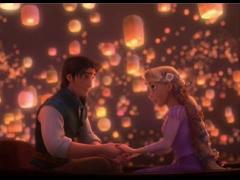Tangled/Rapunzel Soundtrack - I See The Light (with lyrics on screen)