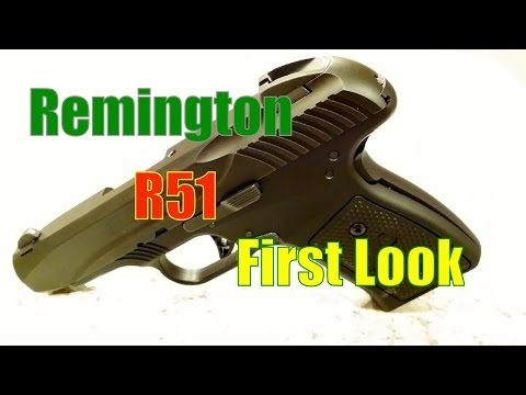 Remington R51 First Look & Concerns