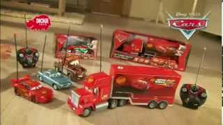 3D Video: Cars 2 Radio Control Turbo Mack Truck RC Playset Commercial TV