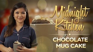 Midnight Kitchen #1: Valentine Chocolate Mug Cake