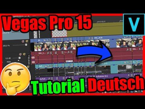 SO entsteht ein YouTube VIDEO! Vegas Pro 15 Deutsch