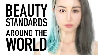 Beauty Standards Around The World ♥ One Face 7 Countries ♥ Wengie