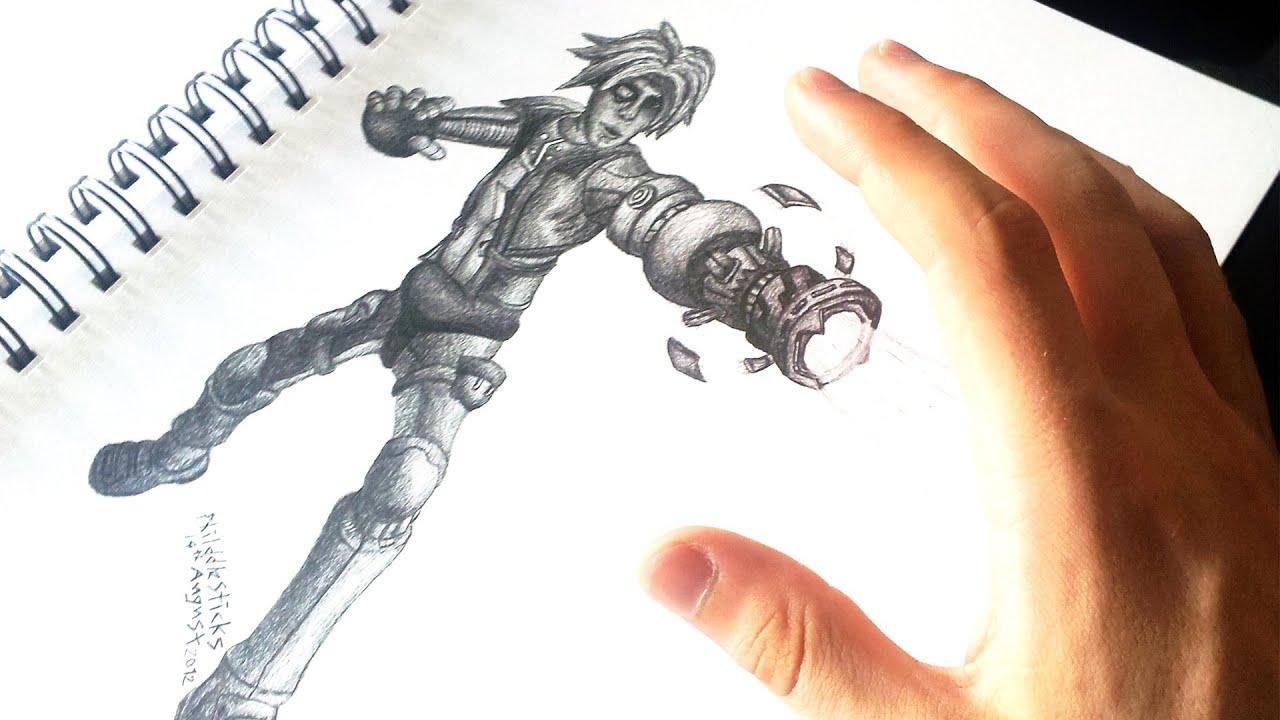 Ezreal Lol Drawing Drawing Pulsefire Ezreal