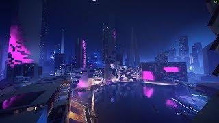 Mirror's Edge Catalyst - The Perfect Night Run - Running Gameplay [1080p 60FPS]