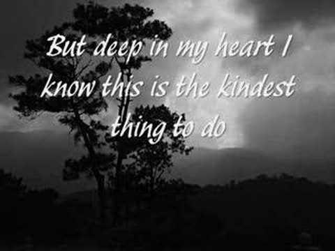 Celine Dion - I Love You Goodbye