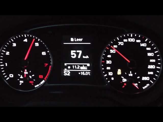 2013 Audi A1 1.4 TFSI 185 HP 0-100 km/h & 0-100 mph ...