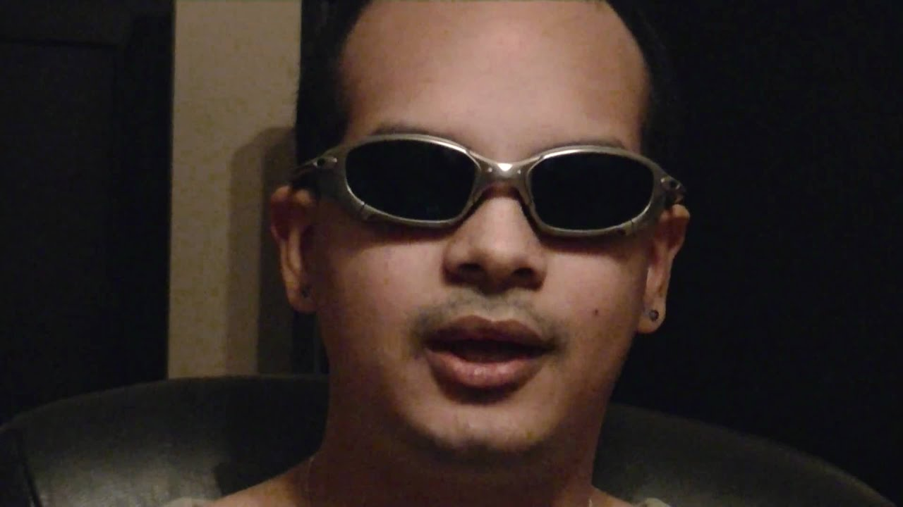 First Oakley Juliet Xmen Side-blinder movie prop glasses ...