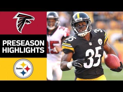 Falcons Vs Steelers Nfl Preseason Week 2 Game Highlights