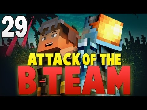 Minecraft Attack of the B-Team #29 | WITHER BOSS QUESTING! - Minecraft Mod Pack Survival