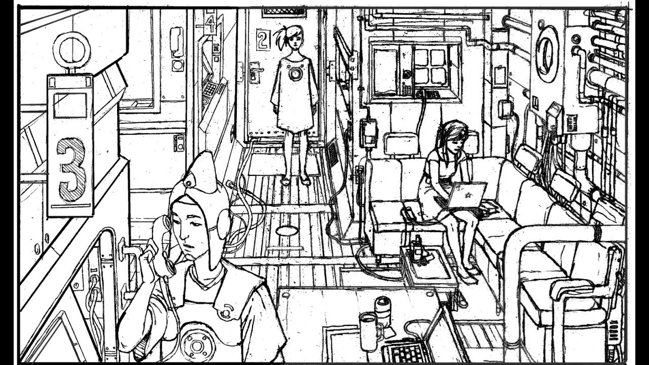 Como dibujar una habitaci n vista desde arriba en for Habitacion dibujo