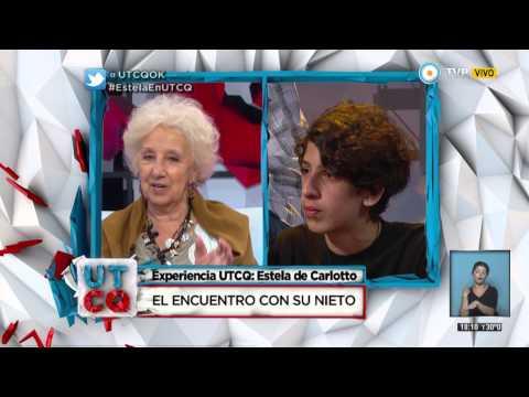UTCQ - Charlamos con Estela de Carlotto - 27-10-14 (1 de 2)