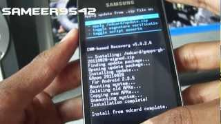 How To Install Motorola Droid Razr Rom On Galaxy Ace