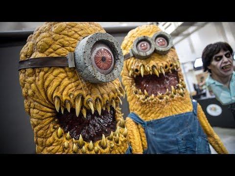 Creepy Minion Costumes at Monsterpalooza 2018!