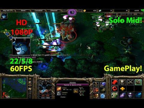 ★DoTa Akasha Qwop - GamePlay 6.83★!KDA: 22/5/8!★Beyond Godlike!!!!★