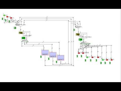 Elevator Logic Circuit Simulation Youtube
