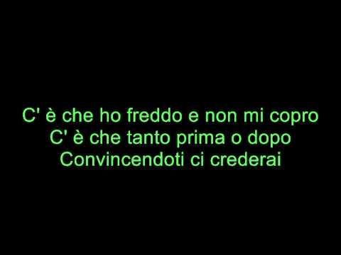 Ed ero contentissimo Tiziano Ferro Karaoke con musica