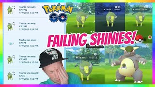 OMG! I FAILED 4x SHINY REGIONAL POKEMON in Pokemon Go! ( NOT CLICKBAIT ) Pokemon Go History?
