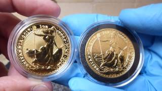 30th Anniversary Gold & 20th Anniversary Silver Britannia - 2017