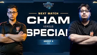 Cham vs SpeCial ZvT - Ro16 Group A Decider - WCS Winter Americas
