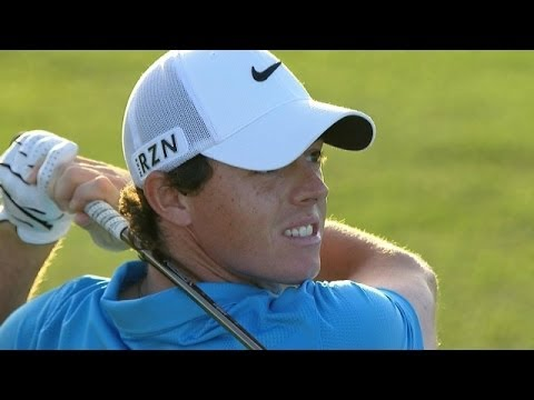 In the final round of The Honda Classic 2014, Rory McIlroy hits his 235-yard approach to 10 feet and would two-putt for birdie on the par-5 18th hole. Subscr...