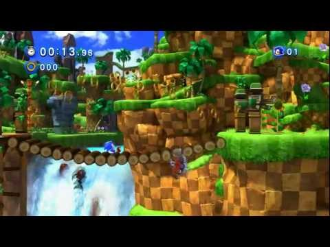 Sonic Generations - Green Hill Zone Gameplay GTX 460 EE