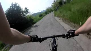 66kph Downhill Cannondale Badboy