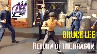 Bruce Lee [Stop Motion Film]- Return of the Dragon