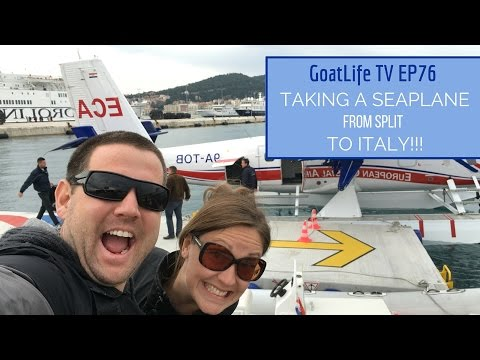 Travelling from Split, Croatia to Rome, Italy