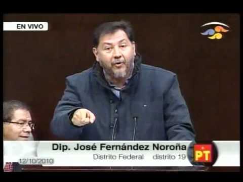Gerardo Fernandez Noroña Deja Mudos y Frios A Diputados Del PAN En Debate