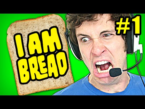 I Am Bread Gameplay Part 1 - Bread Rage - Let's Play I Am Bread (gameplay & Commentary) video