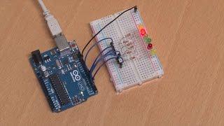 Projekt: Ein Lauflicht programmieren | Das Arduino-Training