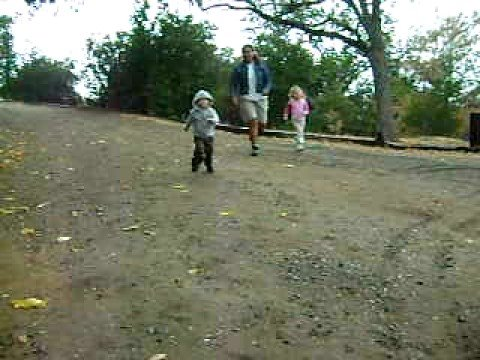 One-Year-Old Happily Tackles Camera-Wielding Babysitter