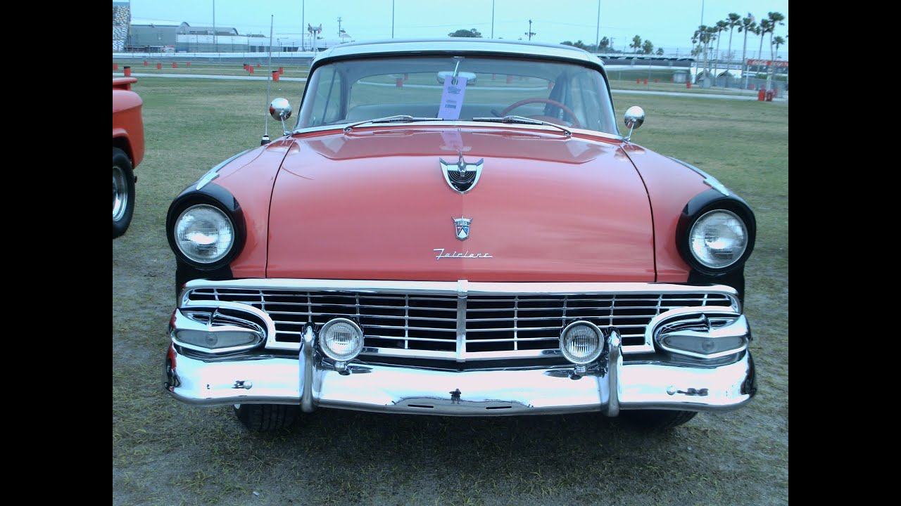 1956 ford fairlane victoria two door hardtop roseblk for 1956 ford crown victoria 2 door coupe